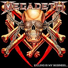 The 2002 remastered/remixed CD edition cover art redesigned from Mustaine's 1985 sketches