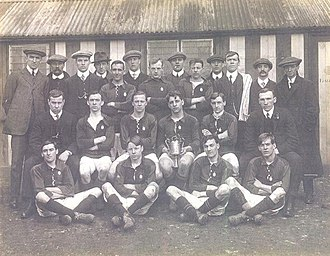 Kiveton Park F.C. - The Kiveton Park team which won the 1914 Portland Challenge Cup