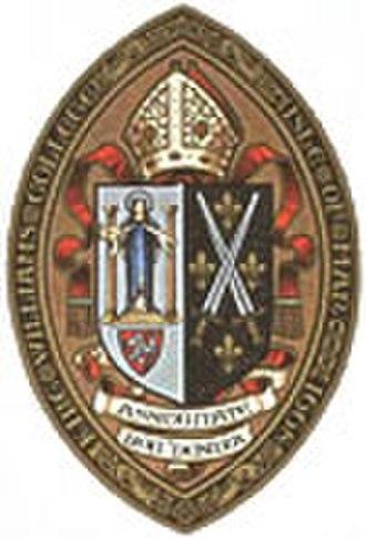 King William's College - Image: Kwccrest