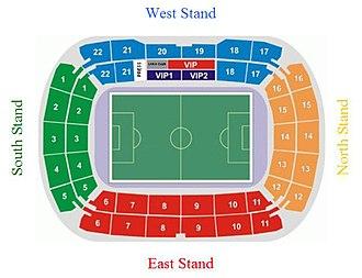 RZD Arena - Stadium Plan