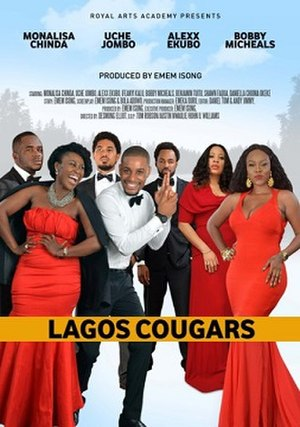 Lagos Cougars - Theatrical release poster