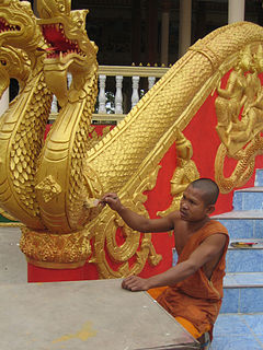 Lao Buddhist sculpture