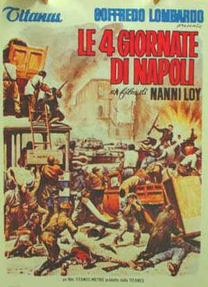 The Four Days of Naples (film) - Italian film poster