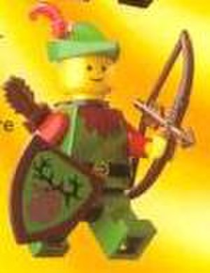 Lego Castle - A Forestman minifigure