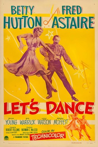 Let's Dance (1950 film) - theatrical release poster