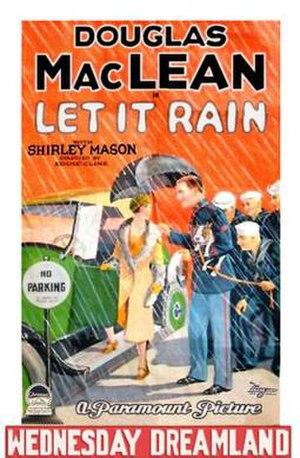 Let It Rain (film) - Film poster