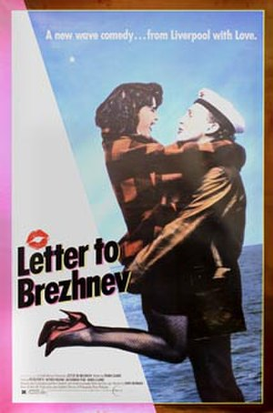 Letter to Brezhnev - Promotional movie poster for the film