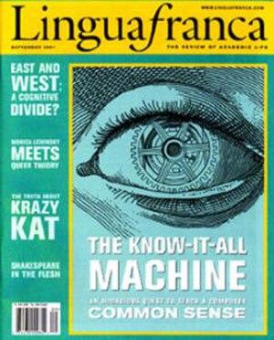 Lingua Franca (magazine) - Image: Lingua Franca (magazine)
