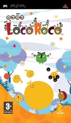 LocoRoco - European cover art