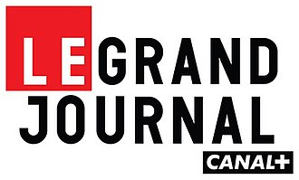 Le Grand Journal (Canal+) - Image: Logo le grand journal canal plus