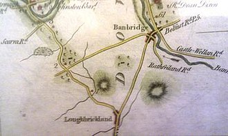 Loughbrickland -  Carn Cochy near Loughbrickland as named in the Annals of the Four Masters