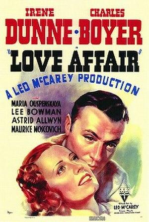 Love Affair (1939 film) - original film poster