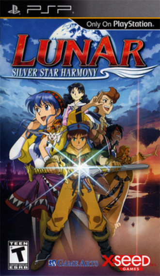Lunar: Silver Star Harmony - North American cover art