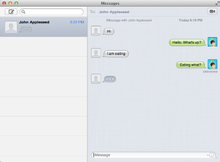Mac OS X Messages screenshot.png