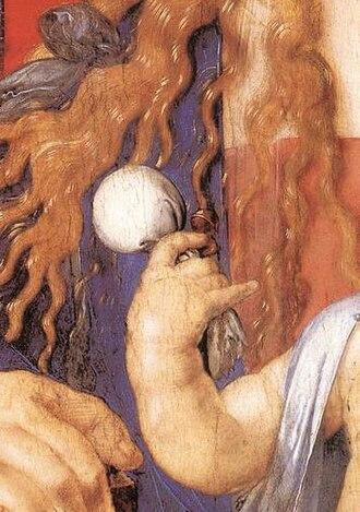 Pacifier - Albrecht Dürer – Madonna with the Siskin detail, 1506