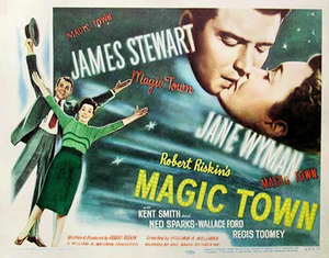 Magic Town - 1947 theatrical poster