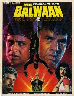 <i>Main Balwaan</i> 1986 film directed by Mukul S. Anand