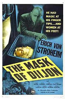 <i>The Mask of Diijon</i> 1946 film by Lew Landers