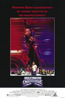 Maximum overdrive wikipedia maximumoverdriveposterg fandeluxe Images