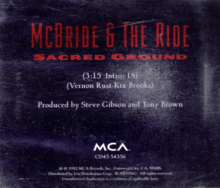 McBride and the Ride - Sacred Ground single.png