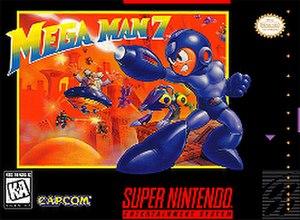 Mega Man 7 - North American box art