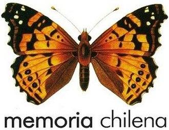 Memoria Chilena - Logo of Memoria Chilena