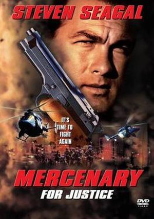 Mercenary for Justice - Theatrical release poster
