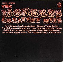 D w washburn wikivisually the monkees greatest hits colgems image monkees greatest colgems fandeluxe Choice Image