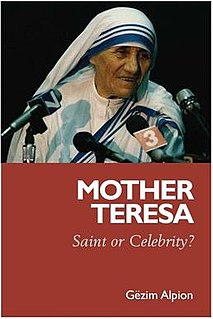 <i>Mother Teresa: Saint or Celebrity?</i> book by Gëzim Alpion