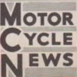 Motor Cycle News - Example of 1962-onwards logo with enlarged initial letters
