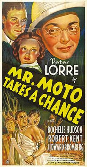 Mr. Moto Takes a Chance - Theatrical release poster