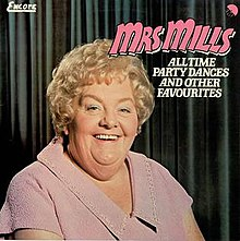 Mrs. Mills (All Time Party Dances) Album Cover.jpg