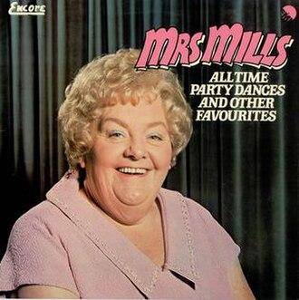 Mrs Mills - Mrs Mills album cover