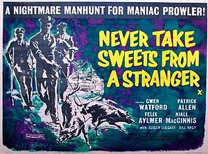 Never Take Sweets from a Stranger - UK release poster
