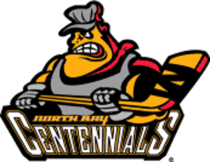 North Bay Centennials - Image: North Bay Centennials new logo