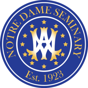 Notre Dame Seminary - Seal of Notre Dame Seminary.