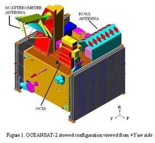 Oceansat-2 Indian oceanography satellite