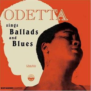 Odetta Sings Ballads and Blues - Image: Odetta Sings Ballads and Blues CD cover