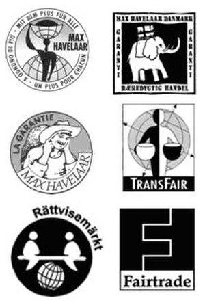 Fair trade - Early Fairtrade Certifications Marks