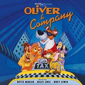 Oliver & Company - Image: Oliver&companycd
