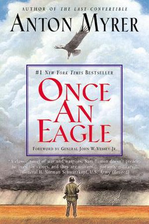 Once An Eagle - Cover to HarperTorch paperback edition (2001)