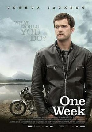 One Week (2008 film) - Promotional film poster