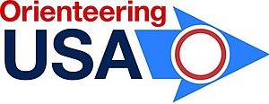 Orienteering USA - Image: Orienteering USA Logo