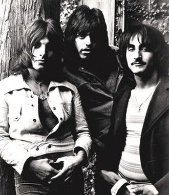 Sir Lord Baltimore - From left to right: Louis Dambra, Gary Justin, and John Garner, in circa 1971.