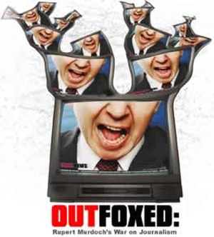 Robert Greenwald - Promotional poster for Outfoxed (2004)