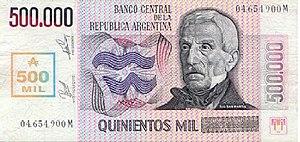 Argentine austral