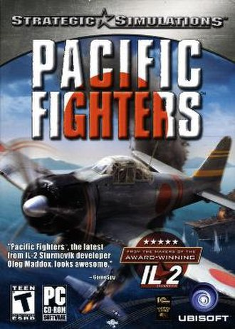 Pacific Fighters - Image: Pacific Fighters Cover