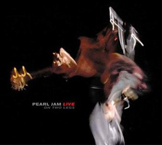 <i>Live on Two Legs</i> 1998 live album by Pearl Jam