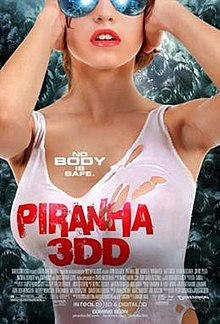 Piranha 3DD 2012 HDRip 350MB