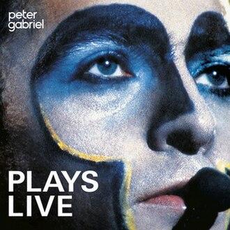 Plays Live - Image: Plays Live Peter Gabriel